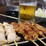 九州(福岡)の焼き鳥はこんな感じで美味しいよ♪